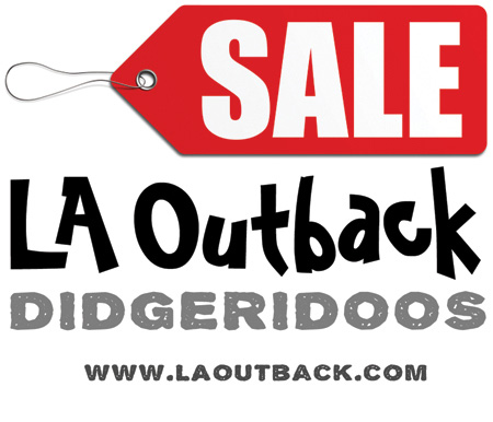 Didgeridoo Sale at L.A.Outback